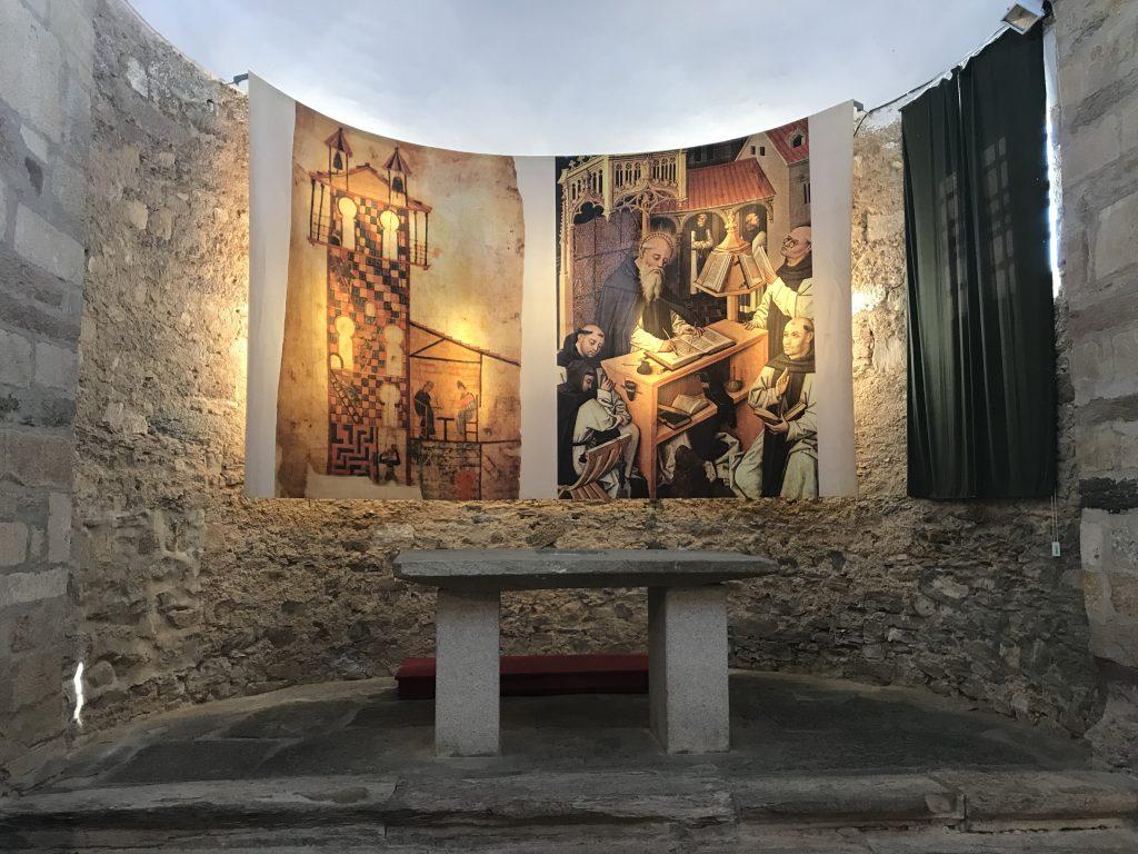 Altar en Iglesia de Santa María de Tábara