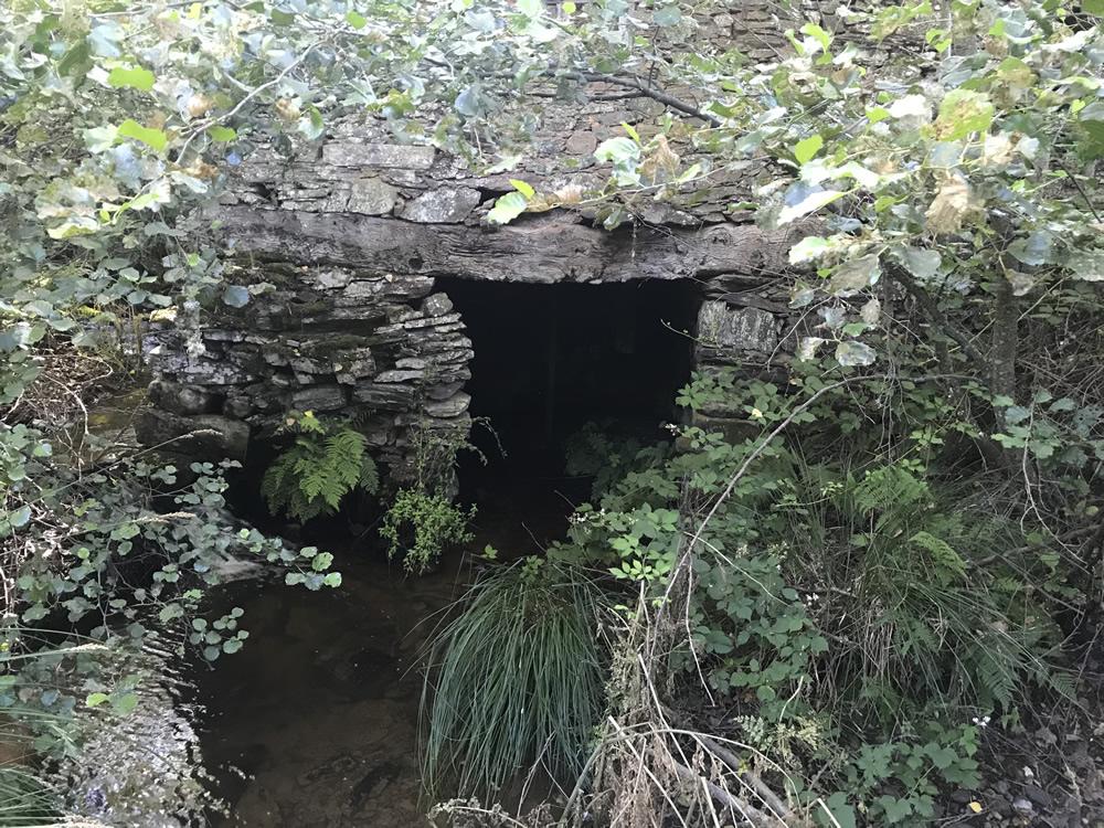 Molino en el Puente de San Cibrián