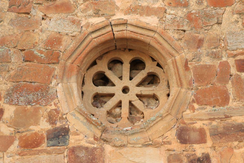 Rosetón del Monasterio de Moreruela de Tábara