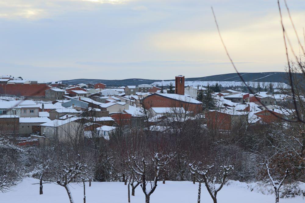 Un pueblo nevado