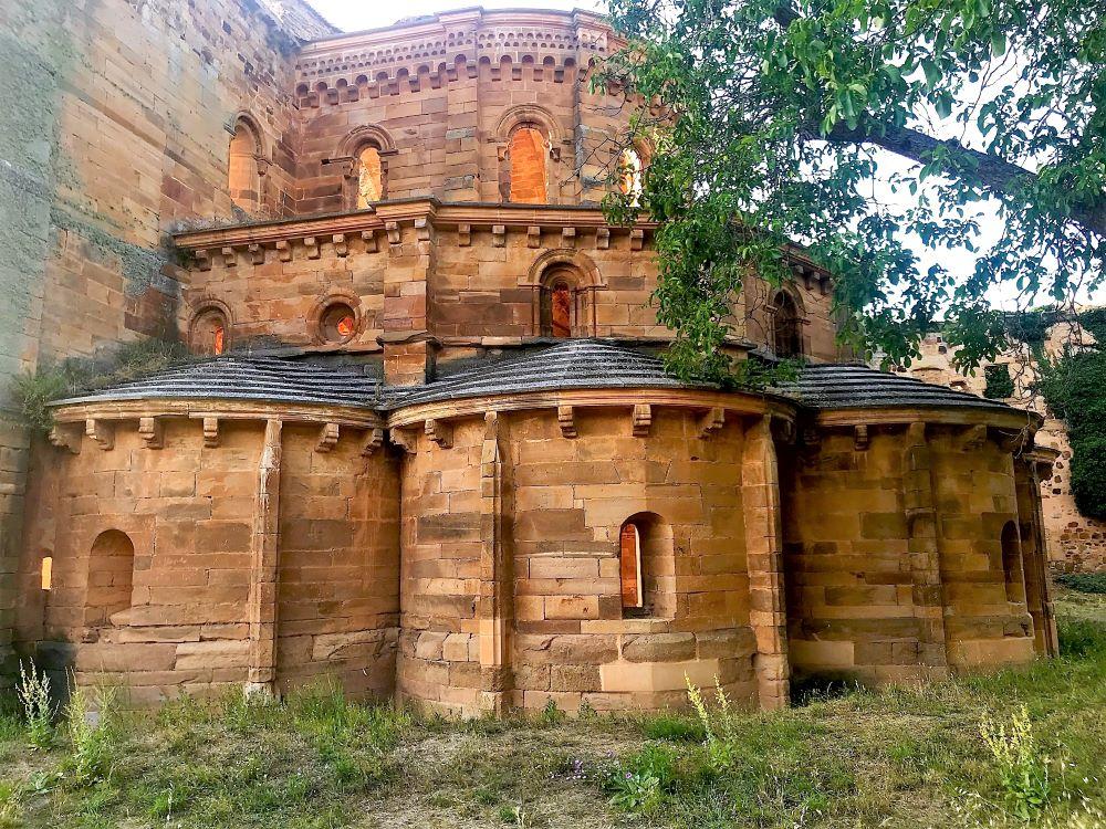Vista exterior del Monasterio de Granja de Moreruela