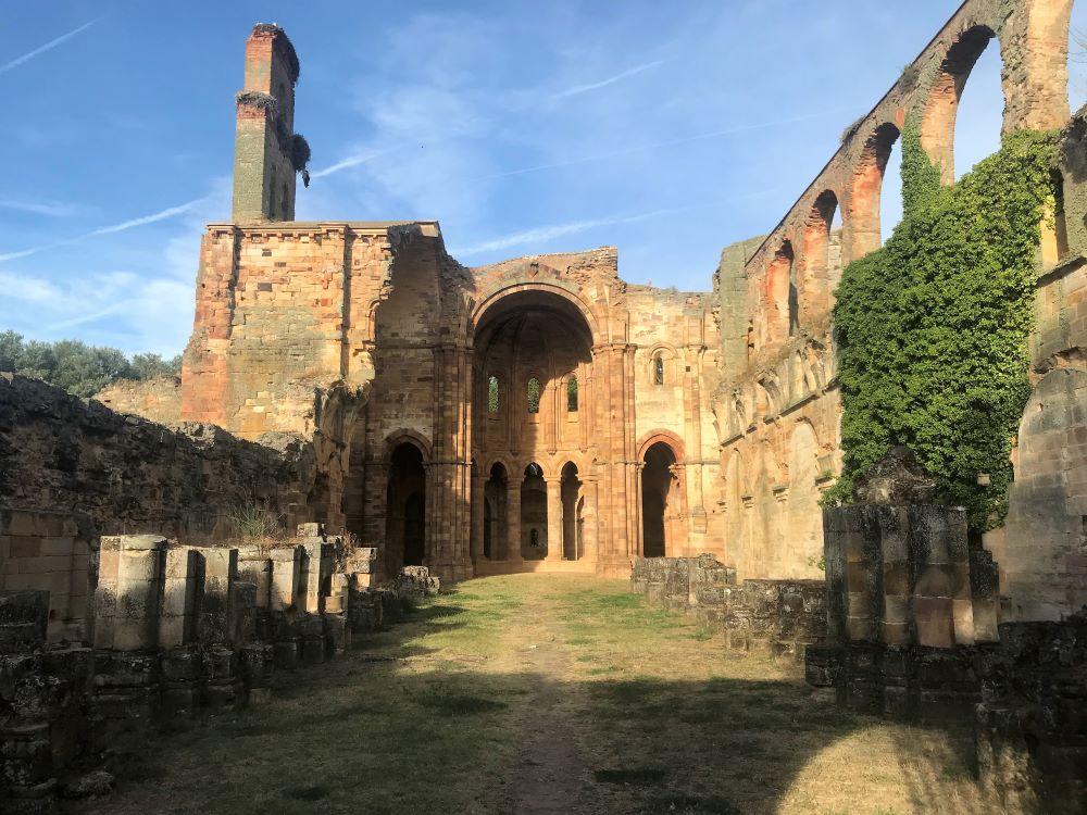 Vista interior del Monasterio de Granja de Moreruela